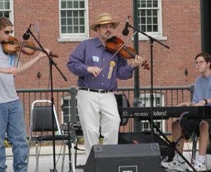 At a Fiddle Concert